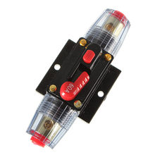 12V DC Car Audio Inline Circuit Breaker Fuse for System Protection 60A 60 AMP(China)