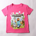 2016 Summer New 100% cotton boys t-shirt Children's minion t shirt  Toddler to adult kids t shirt for 2-14 years kids clothing