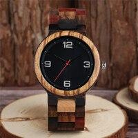 Reloj masculino madera color