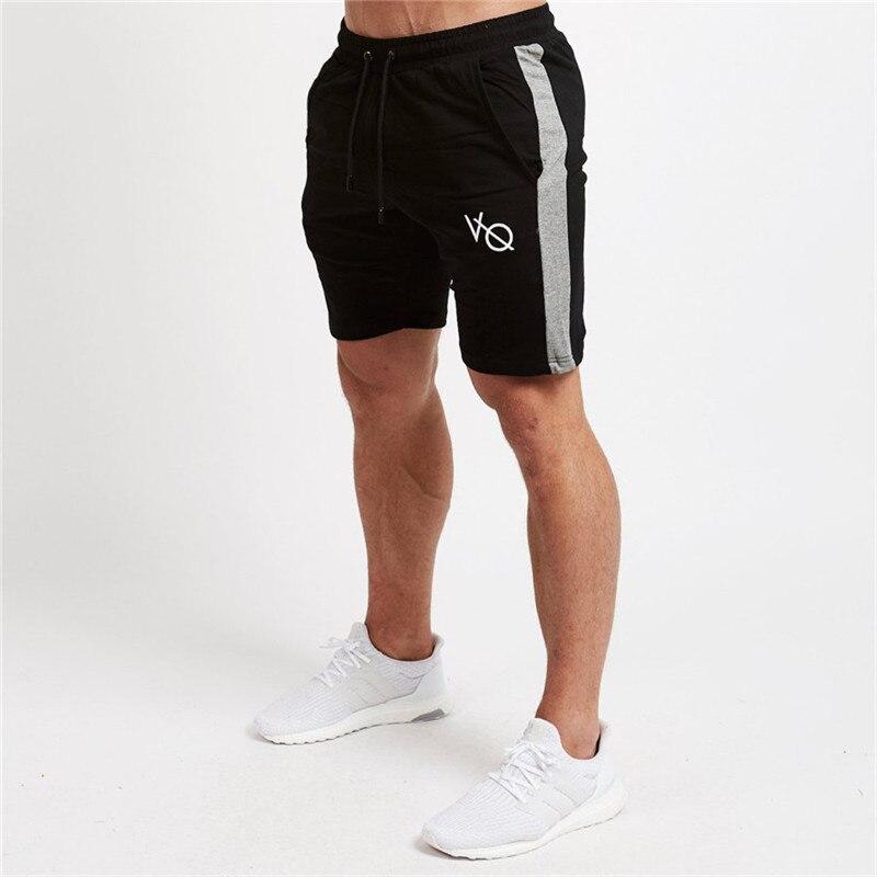 2019 Casual Shorts Männer Der Vq Kalb-länge Frühling Sommer Fitness Baumwolle Short Joggers Workout Marke Sporting Kurze Hosen Sweatpant