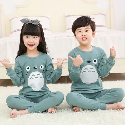 Pajamas Boys Sleepwear Baby-Girls Winter Kids Unicornio Infantil Full-Sleeve Cotton Autumn