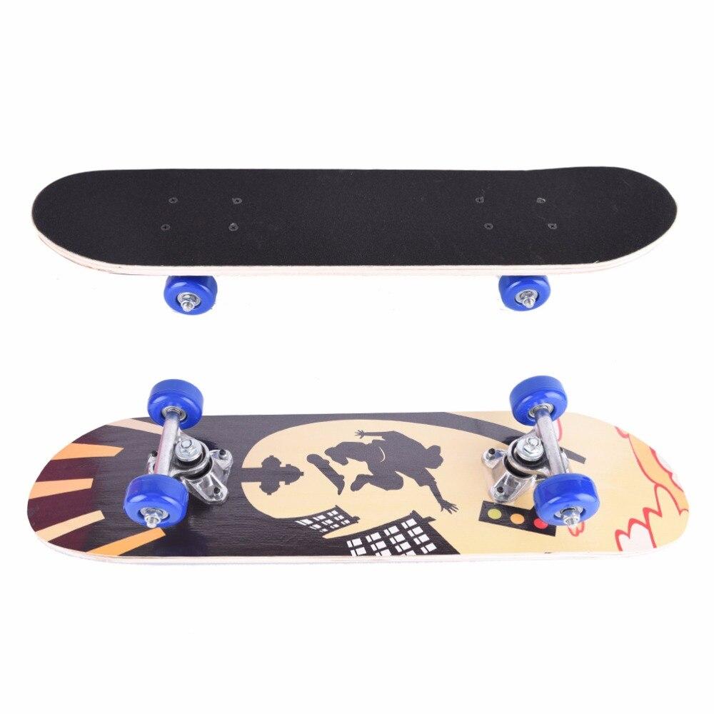 Impression Rue Graffiti Style Planche À Roulettes Pont Pour Enfant Enfants Skate 60*15 cm