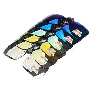 الصيد نظارات الاستقطاب كليب على النظارات الشمسية الإطار قصر النظر UV400 للرؤية الليلية ل الصيد القيادة الرجال النساء نظارات رياضية Oculos