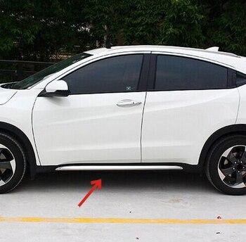 Akcesoria nadające się do 2014 2015 2016 dla Honda HR-V VEZEL CHROME boczne drzwi linii odlewnictwo udekorować pokrywa osłonowa PROTECTOR HRV
