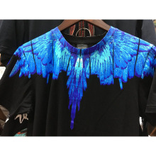 Marcelo Burlon T Shirt Men Women uomo 1:1 County Of Milan Feather wings Marcelo Burlon T-shirt Tee Summer Marcelo Burlon T Shirt