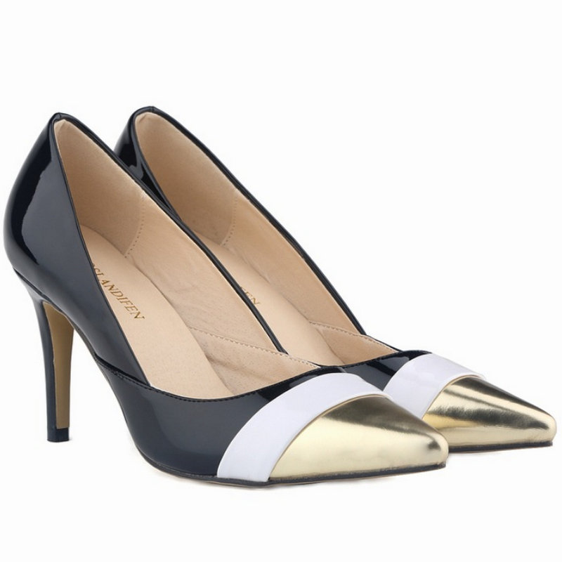 Y412 WomensPumps fashion style summer indoor pu Womens solid Pumps good qualityY412 WomensPumps fashion style summer indoor pu Womens solid Pumps good quality