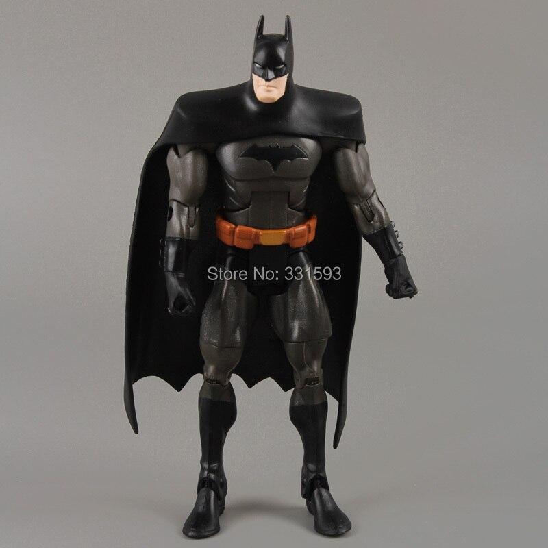 DC Universe Super Hero Batman PVC Action Figure Collectible Toy Model 7 18CM Action & Toy Figures Free Shipping