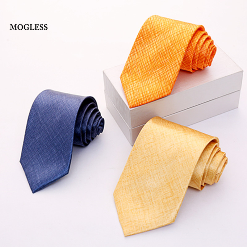 Mogless New Accessories Ties For Men Striped Pattern Men Business Tie Social Wedding Party Formal Tie Men's Clothing Accessories