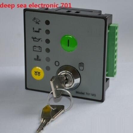 Model 701 MS Generator Controller Manual Start replace DSE701 free shipping generator controller dse701 ms