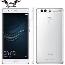 Оригинал Huawei P9 3 ГБ RAM 32 ГБ ROM 5.2 дюймов Kirin955 Octa Ядро двойной Назад 12MP Камера 4 Г LTE Отпечатков Пальцев Android 6.0 Мобильный Телефон(China (Mainland))