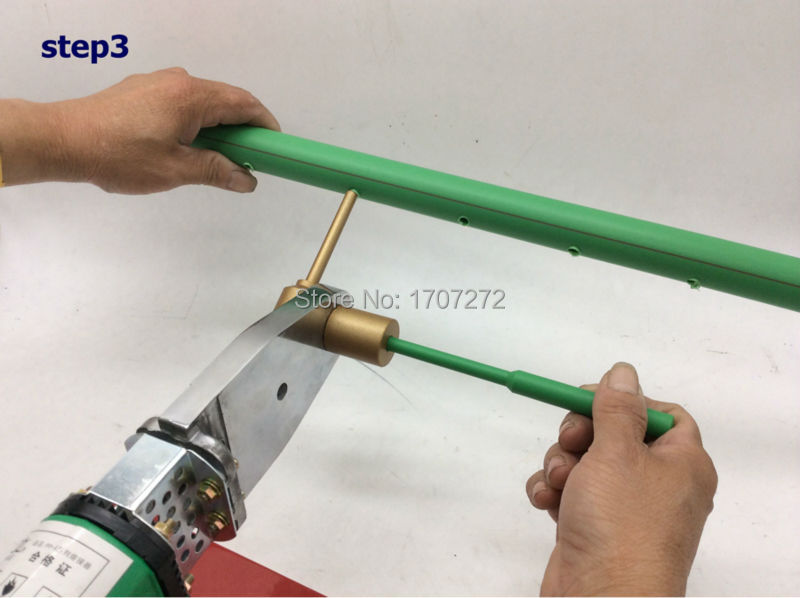 Free Shipping PPR Water Pipe Repair Tool, Repair Leaks And Loopholes 7mm Plastic Pipe Welding Parts Die Head, Welding Mold