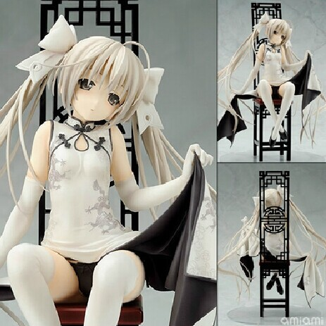 2017 Adult Sexy Action Figures Yosuga No Sora Japanese Anime Figure Hot Toys Pvc Cartoon Figure Gifts Brinquedo Free Shipping trendy bob straight short natural black neat bang heat resistant synthetic capless wig for women