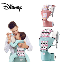 Disney Baby Carrier Infant Baby Hipseat Carrier Front Facing Ergonomic Kangaroo Baby Wrap Sling for Baby Travel 0 36M