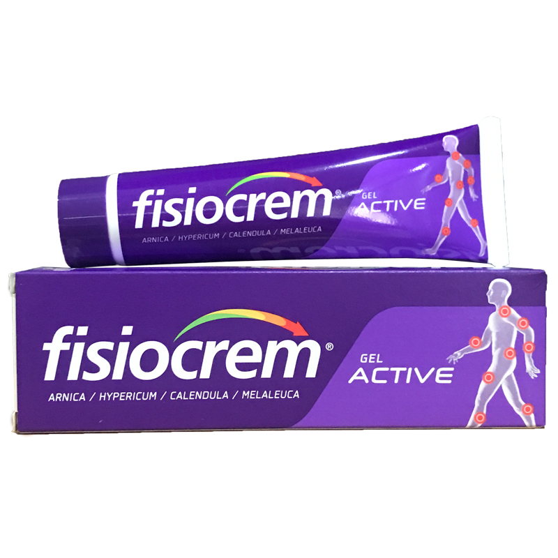 Fisiocrem 60g Muscle & joint aches pains massage Solution bumps bruises Gel Relief of muscle joints pain Back pain relief creamFisiocrem 60g Muscle & joint aches pains massage Solution bumps bruises Gel Relief of muscle joints pain Back pain relief cream