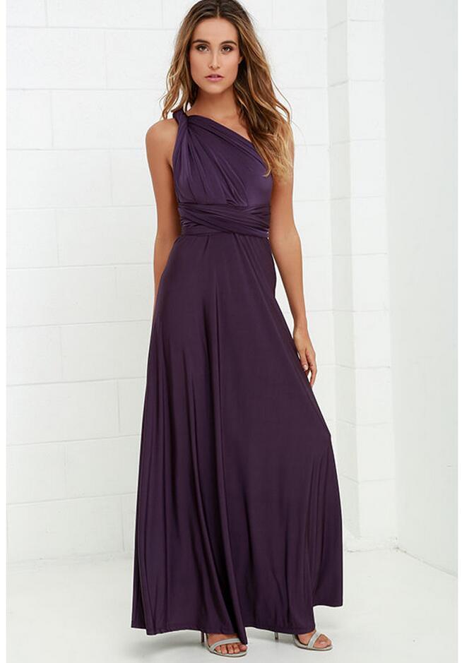 2019 Elegant backless satin long dress Women evening summer dress Party classical maxi dresses vestidos Glossy brief and elegant