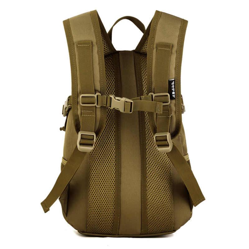 12L Taktis Molle Tentara Luar Ruangan Olahraga Pack Tahan Air Tas Ransel Tas Sekolah Anak Mini Militer Ransel Anak Tas