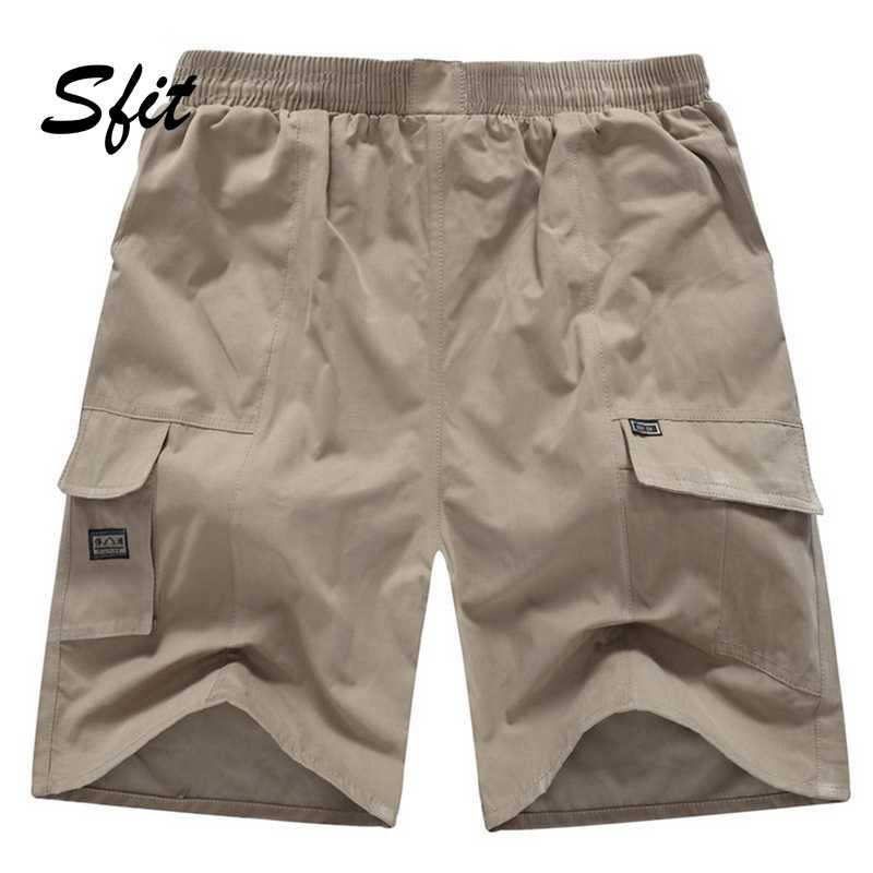 Sfit Verão Mens Praia Surf Curta Cordão Sunga Cintura Pockets Shorts Holiday Party Boardshorts Masculinos Casuais de Fundo