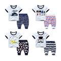 Summer new boy suit children T-shirt baby pants Haren summer 2017 paragraph two set