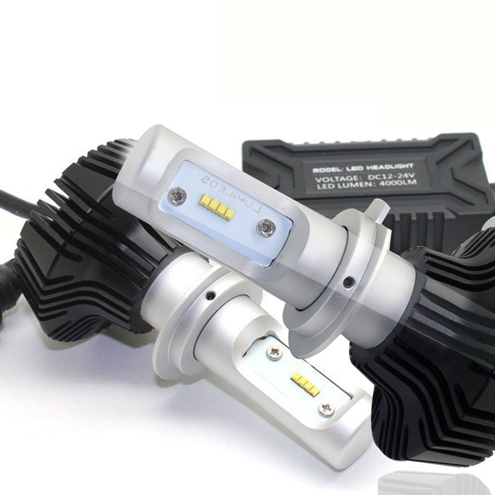 7th Led Headlight Bulb Conversion Kit H7 80w 8000lm 6500k Cool White Led Car Headlight Bulbs 12v