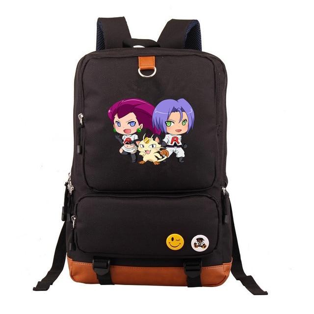 Рюкзак покемоны в ассортименте коричневый 1