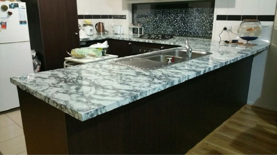 3m 5m 10m Modern Waterproof Vinyl Self Adhesive Wallpaper Marble Contact Paper Kitchen Cupboard Shelf Drawer Liner Wall Stickers In Wallpapers From Home