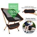 Draagbare Opvouwbare Maan Stoel Vissen Camping BBQ Kruk Vouwen Uitgebreide Wandelen Seat Tuin Ultralight Kantoor Meubelen