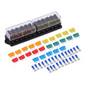 Universal Car Truck Vehicle 12 Way Circuit Automotive Middle-sized Blade Fuse Box Block Holder With 25 pcs Accesseries