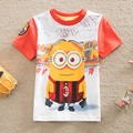 NEAT Wholesale 2016 Children Boys Kids Short Sleeve t shirt with embroidered fashion Character Design Boys Tee C5045