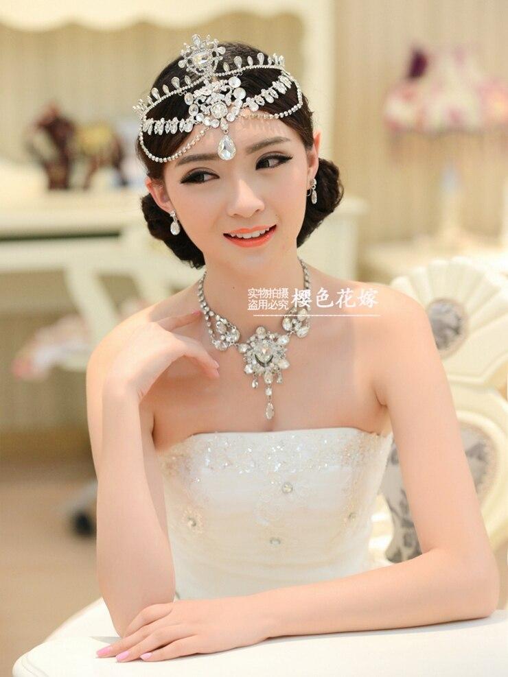 Aliexpress.com : Buy Crystal Luxury Bridal Forehead