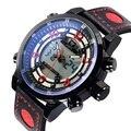 2016 Новый AMST Военные Часы Люксовый Бренд Часы Мужчины Кварц Мода Повседневная Мужчины Спорт Дата Часы Кожа Наручные Часы
