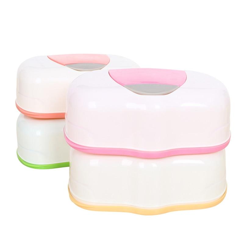 Wipes Box Plastic Wet Tissue Automatic Case Pop-up Design Tissue Case Baby Wipes Storage Organizer Box HG0308
