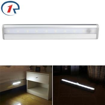 ZjRight Energy saving 10 LED lampada Della Luce del governo Cucina Armadio camera da letto della Scala interna luce di notte wc sala studio lampada balcone