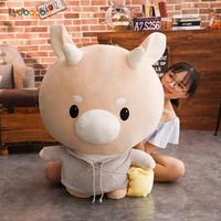 90cm Giant Korean Drama Jin Secretary Hard Cow Stuffed Plush Doll Cute Cattle Toys New Arrive Korean TV Kids Baby Birthday Gifts