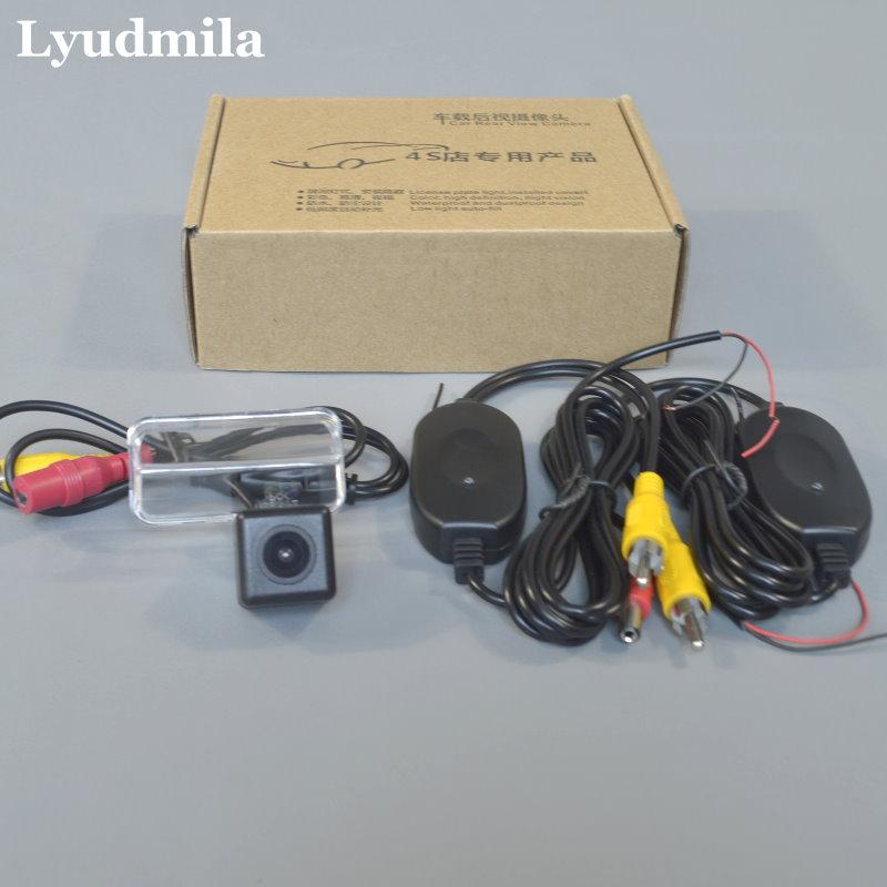 Trådlös kamera för Citroen Xsara / Picasso MPV / bil Bakifrån Kamera / HD Backup Omvänd kamera / bilparkeringskamera