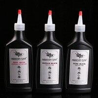 12 Tattoo pigment tattoo black ink tattoo black pigment black material tattoo black syrup water 360ml beauty