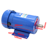 220V DC permanent magnet motor 750W high power 1800 rpm high speed motor speed reversing cutting motor