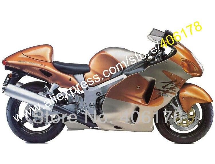 Pour Hayabusa GSXR 1300 GSX-R1300 1999 2000 2001 2002 2003 2004 2005 2006 2007 carénages (moulage par Injection)