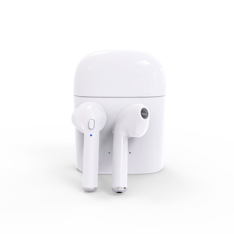 Hot i7s TWS Earbuds Ture Wireless Bluetooth Earphones Mini Twins Phone Earpieces Stereo Music Headset For Apple iPhone Samsung dacom bluetooth earphone mini wireless stereo headset tws ture wireless earbuds charging box for iphone xiaomi android phone