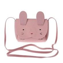 New Girl Mini Cute Rabbit Shoulder font b Bag b font Messenger Single Shoulder font b