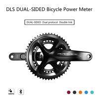 DLS dual sided Bicycle power meter for SHIMANO bike Crank dual protocol Power meter Bicycle GPS Computer Bilateral power meter