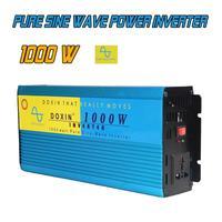 1000 Вт D12V/AC220V стайлинга автомобилей инверсор Чистая синусоида Мощность питания преобразователя Wechselrichter инверсор Veicular