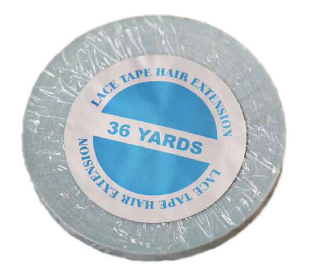 1cmx 36 yards long time water proof  tape Super quality blue tape  hair extension tape  hair tape