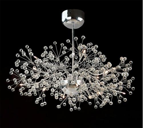 Acquista all'ingrosso online sfera di cristallo lampadario da ...