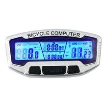 Wired Waterproof LCD Bicycle Computer Bike Cycling Computer Odometer Luminous Night Speedometer for bike wired Velometer