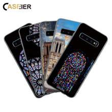 CASEIER Phone Case For Samsung S8 S9 S10 E Plus Secrets Of Paris Matte Galaxy A7 A8 A9 Note 8 9 J7 Covers