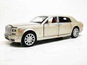 Image 4 - 1:32 Rolls Royce Phantom Extended Limousine Alloy Diecast Toy Metal Vehicle Car Model Kids Gift Collection Free Shipping