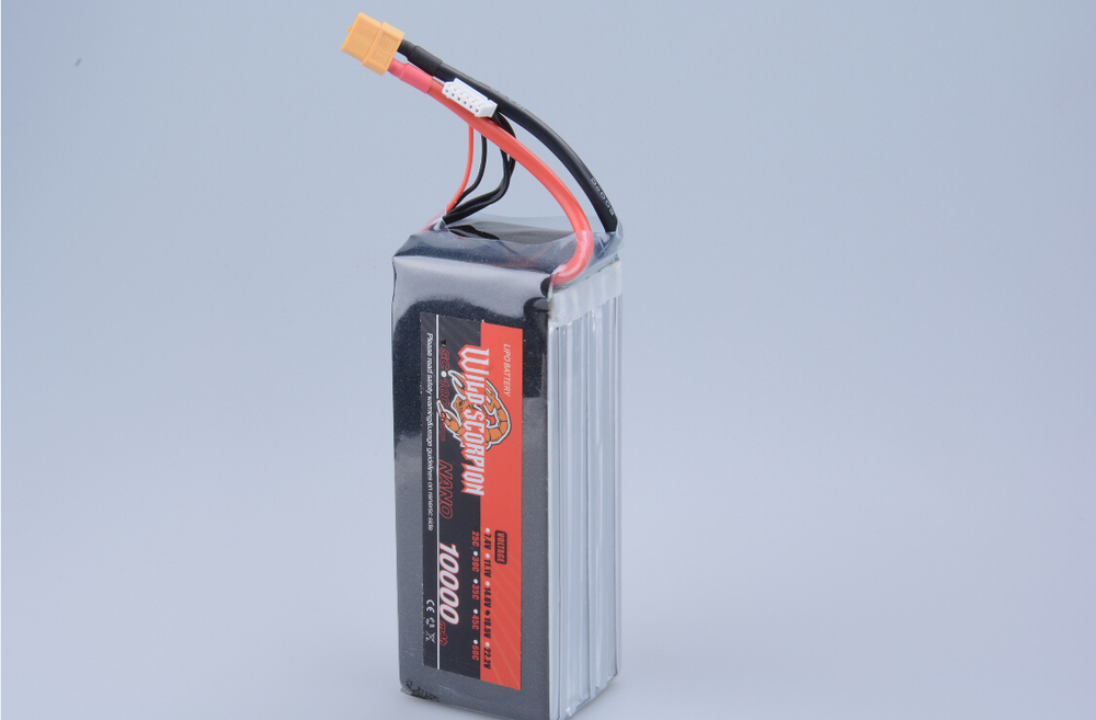 1pcs Wild Scorpion Lipo Battery 18.5V 10000mah 25C MAX 40C XT60 Plug For RC Quadcopter Drone Helicopter Car Airplane  цена и фото