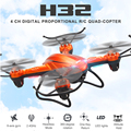 Новейшие JJRC H32WH МИНИ Drone с Камерой 2.4 Г 4CH Один Ключ вернуться ПРОТИВ JJRC H32GH 5.8 Г FPV RC Мультикоптер Вертолет VS H8