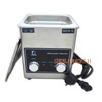 Máquina de limpeza de aço inoxidável industrial de alta potência do sincronismo do aquecimento da capacidade da máquina 220 v 1.8l da limpeza ultrassônica 1pc|Machine Centre| |  -
