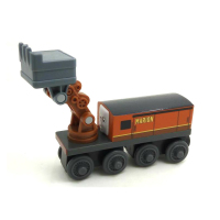 Free Shipping NEW MARION Original Thomas And Friends Wooden Magnetic Railway Train Model Boy Baby Toys